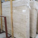 Popular Natural White Travertine Marble Slab for Decoration
