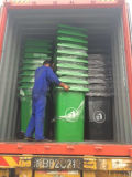 Large Capacity 360L Plastic Garbage/Trash/Waste Container/Bin