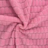 100% Polyester Grid 5 Jacquard Flannel Fleece