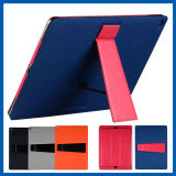 Leather Smart Kickstand Folding Case for iPad PRO