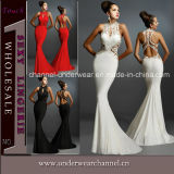 New Design Lady Prom Wedding Party Evening Gown Dress (T60639)