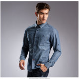 Hot Style Long Sleeve Life Men′s Jeans Shirts Tops