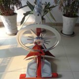 Classic Metal Red Spinning Wheel
