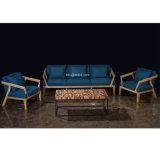 (SL-8602) Modern Hotel Restaurant Living Furniture Wooden Fabric Sofa