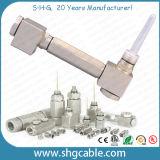 180 Degree Aluminum Pin Connector for Trunk Coaxial Cable Qr540 P3 500 (TC20)