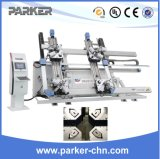 Aluminum Window Door Fabrication Machine CNC Four Corner Crimping Machine