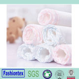 Soft Baby White Hand Towel Muslin Square Baby Plain Hand Towel