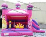 Best Standard 0.55mm PVC Tarpaulin Bouncy Castle Prices / Inflatable Castle Princess