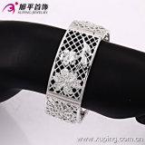 New Xuping Fashion Silver Royal Elegant Natural Flower Bangle