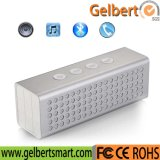 Wholesale Cuboid Silver Power Bank Wireless Speaker for Phone PC