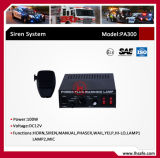 High Power Emergency Electronic Siren Amplifier (PA300)