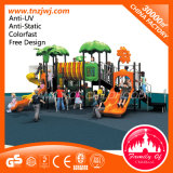 Funny Kids Plastic Playhouse Outdoor Playground with Slide