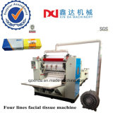 Good Price Box Type Facial Paper Slitting Embossed Face Tissue Paper Folding Machine