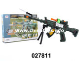 Plastic Bo Gun Toy with Flashlight&Infrare (027811)