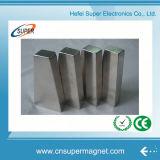 Permanent N35 Nickel Neodymium Block Magnet for Motor