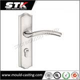 Customized Zinc Die-Casting Handle on Door Plate