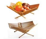 2017 New Design Bamboo Fruit Basket