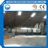 10t/H Single Tube Rotary Dryer for Wood Pellets