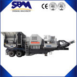 Sbm Portable Crusher, Mobile Cone Crusher Plant