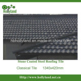 Classical Colorful Stone Metal Roofing Tile