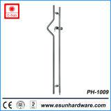 Europe Popular Shower Latch in High Quality Glass Door Lock (pH-1009)