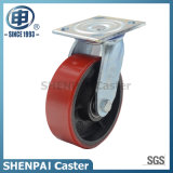 Heavy Duty Iron-Core PU Swivel Industrial Caster Wheel