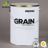 5L Custom Printing Round Paint Tin Can with Metal Handle