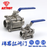 Stainless Steel Welding 3PC Ball Valve of China Professional Supplier