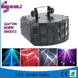 2*10W LED Stage Double Derby with CE & RoHS (HL-055)