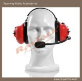 Anti-Noise Microphone Heavy Duty Headphones/Two Way Radio Headset
