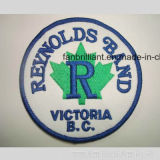 Eco Friendly Embroidered Patch Heat Transfer on Cloth