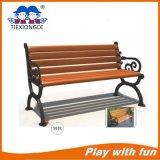 Garden Wooden Surface Steel Bench