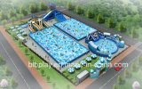 50X70m Inflatable Water Park Planning as Per Actual Area