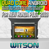 Witson S160 Car DVD GPS Player for New Honda Pilot 2013 with Rk3188 Quad Core HD 1024X600 Screen 16GB Flash 1080P WiFi 3G Front DVR DVB-T Mirror-Link (W2-M32)