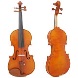 Sinomusik High Grade Solid Violin with Violin Case with BV/SGS Certificate