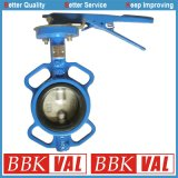 Ductile Iron Butterfly Valve Pinless Type