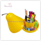 Pear Stationery Organizer, Sundries Storage Box for Candy, Cosmetic, Gift