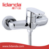 Contemporary Brass Shower Faucet with Chrome Finish
