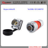 Waterproof Wire Connector Insulated 4 Pin Aviation Connector