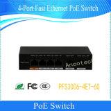 Dahua Transmission 4-Port Fast Ethernet Poe Switch (PFS3006-4ET-60)
