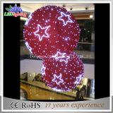 Giant Christmas Festival Ball Decorated Christmas Lighting for Mall