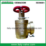 CE Certified Plated Brass Hydrant Angle Valve (AV4068)