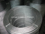 Electro. Galvanized Steel Wire Rope 6*12+7FC