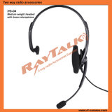 Single Earmuff Noise Cancelling Headset