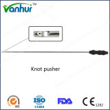 Laparoscopic 5mm Reusable Metalic Knot Pusher