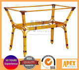 Aluminum Table Base Bamboo Look Cafe Table Base (AB2141B)