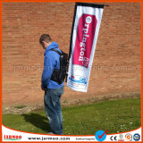 Polyester Printing Outdoor Backpack Flag for Advertising