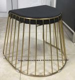 Metal Restaurant Stackable Strings Wire Dining Bar Stools Furniture
