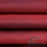 50d 210t Woven Plaid Jacquard 100% Polyester Taslan Fabric (DH051AV)