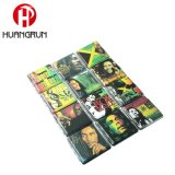 Fashion Mixed Design Cigarette Box PU Leather Coated Heat Transfer Cigarette Case